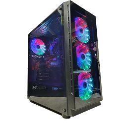 NaviaTec Gaming Case V2 4xLED Color Ventilators, 2x USB 2.0, 1 USB3.0