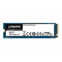 SSD 500GB KIN NV1 PCIe M.2 2280 NVMe SNVS/500G