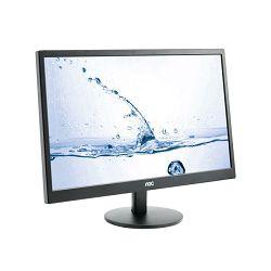 """Monitor 23.6"""" AOC M2470SWH, MVA, 5ms, 250cd/m2, 3000:1, zvučnici, crni M2470SWH"""