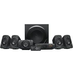 Zvučnici LOGITECH Z906, 5.1, THX, 3D stereo, bežični daljinski, 500W, crni, retail 980-000468