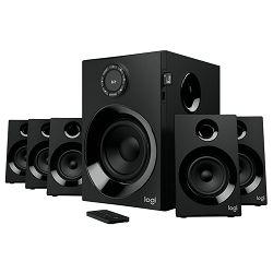 Zvučnici LOGITECH Z607, 5.1, 160W, RCA kablovi, 3.5 to RCA, crni 980-001316