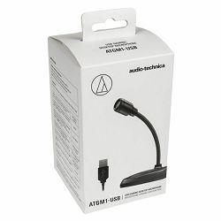 Mikrofon AUDIO TECHNICA ATGM1-USB, stolni, crni ATGM1-USB