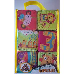 Kocke mekane za slaganje Circus 6kom