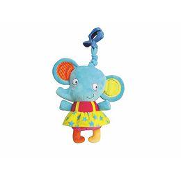 Igračka na povlačenje muzički slonić Elle