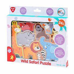 Puzzle za slaganje - Divlje životinje