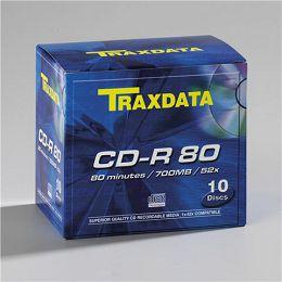 TRAXDATA OPTIČKI MEDIJ CD-R BOX 10 901354ATRA001