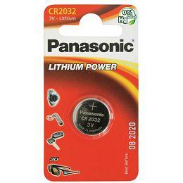 PANASONIC baterije CR-2032EL/1B Lithium Coin CR-2032EL/1B