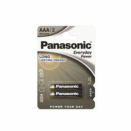 PANASONIC baterijeLR03EPS/2BP Alkaline Everyday Power LR03EPS/2BP