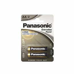 PANASONIC baterije LR6EPS/2BP Alkaline Everyday Power