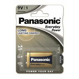 PANASONIC baterije 6LF22EPS/1BP Alkaline Everyday Power