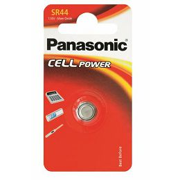 PANASONIC baterije SR-44L/1BP Silver Oxide