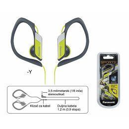 PANASONIC slušalice RP-HS34E-Y žuta