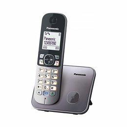 PANASONIC telefon bežični KX-TG6811FXM metalik sivi KX-TG6811FXM