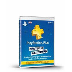 GAM SONY PlayStation Plus Card 365 Days