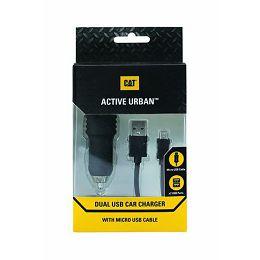 MOB DOD Cat® Car Charger Dual USB Active Urban
