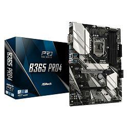 Matična ploča ASROCK B365M Pro4, Intel B365, DDR4, mATX, s. 1151 - 8/9Gen procesora ASR-B365M PRO4