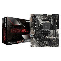 Matična ploča ASROCK A320M-HDV R4.0, AMD A320, DDR4, mATX, s. AM4 ASR-A320M-HDV R4.0