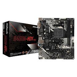Matična ploča ASROCK B450M-HDV R4.0, AMD B450, mATX, s. AM4 ASR-B450M-HDV R4.0