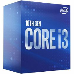 Procesor INTEL Core i3 10100F BOX, s. 1200, 3.6GHz, 6MB cache, Quad Core BX8070110100F S RH8U