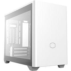 Kućište COOLERMASTER MasterBox NR200P, MCB-NR200P-WGNN-S00, mITX, bez napajanja, window, bijelo MCB-NR200P-WGNN-S00