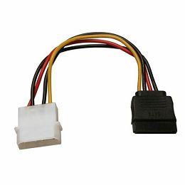 S-ATA Power kabel 25cm, SATA Power RETAIL