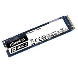 SSD 250 GB KINGSTON A2000 SA2000M8/250G, M.2/NVMe, 2280, maks 2000/1100 MB/s SA2000M8/250G