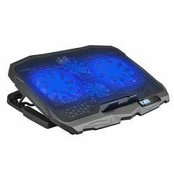 Hlađenje za notebook MAXLINE DCX-025 LCD, do 17'', crno DCX-025 LCD