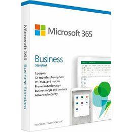 FPP Microsoft 365 Bus.Std 1YR Medialess P6 ENG, KLQ-00461 KLQ-00461
