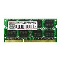 Memorija branded Transcend 2GB DDR3 1066MHz SODIMM