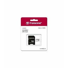 Memorijska kartica Transcend SD MICRO 16GB HC Class UHS 1 + SD adapter TS16GUSD300S-A