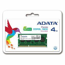 Memorija za prijenosna računala DDR3L 4GB 1600MHz ADATA ADDS1600W4G11-S
