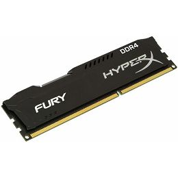 Memorija Kingston DDR4 16GB 2666MHz HyperX Fury Black