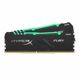 Memorija Kingston DDR4 16GB 3200MHz (2x8GB) HyperX Fury Black