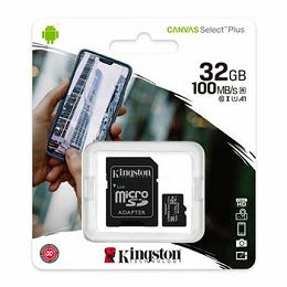 MEM SD MICRO 32GB Canvas Plus + ADP SDCS2/32GB