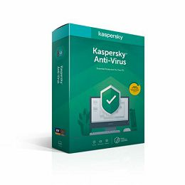 Kaspersky Anti-Virus 3D 1Y
