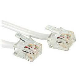 Roline telefonski kabel RJ-12 6P4C, 6.0m
