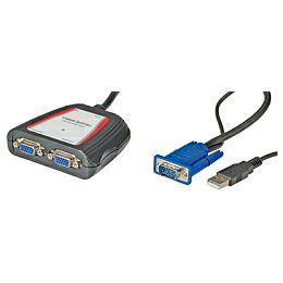 Roline VALUE VGA Video razdjelnik, dvosmjerni, prenosivi