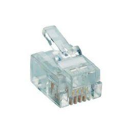 Modularni utikač 6P/4C (RJ11) za ravni kabel
