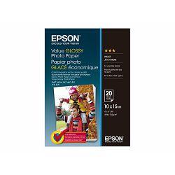 EPSON Value Photo Paper 10x15cm 20 sheet C13S400037