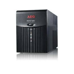 AEG UPS Protect Alpha 1200VA/600W, Line-Interactive, AVR, Data line protection, USB