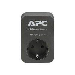 APC SurgeArrest 1 Outlet Black 230V PME1WB-GR