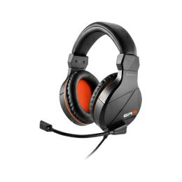 Sharkoon Rush ER3 stereo slušalice sa mikrofonom, crno-narančaste