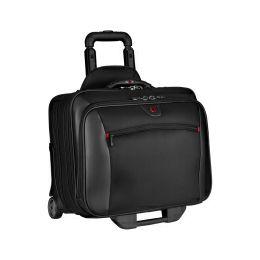 """Wenger torba Potomac za 17"""", dodatni slim case za 15.4"""" prijenosnik sa kotačima, crna"""
