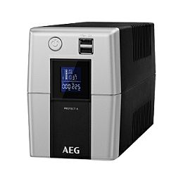 AEG UPS Protect A 700VA/420W, Line-Interactive, AVR, LCD Display, Data line/network protection, USB/RS232