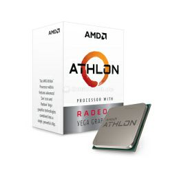 AMD Athlon 200GE 2C/4T (3.20GHz), Socket AM4, 5MB cache, 35W, Radeon Vega Graphics