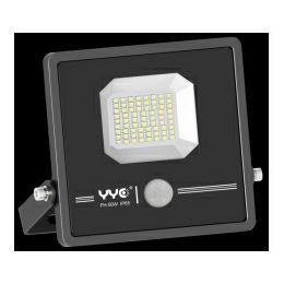 EcoVision LED reflektor PIR 50W, 4800lm, 5000K, IP65