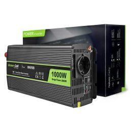 Green Cell strujni inverter 12V na 230V, 1000W/2000W Pure Sine Wave (INV09)