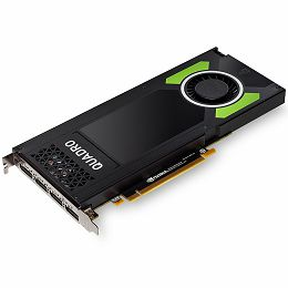 NVIDIA Video Card Quadro P4000 GDDR5 8GB/256bit, 1792 CUDA® Cores, PCI-E 3.0 x16, 4xDP, Cooler, Single Slot (2xDP-DVI-D Cables, 8 pin Power Cable, Stereo Connector Bracket included)
