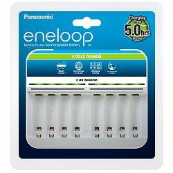 Punjač baterija PANASONIC Eneloop Smart BQCC63E, brzi, 8 mjesta za punjenje BQCC63E