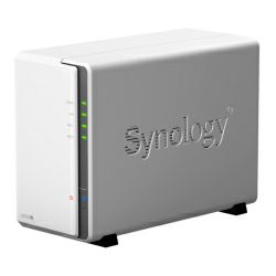 "Synology DS220j DiskStation 2-bay NAS server, 2.5""/3.5"" HDD/SSD podrška, 512MB DDR4, G-LAN, USB3.0×2, Wake on LAN/WAN"